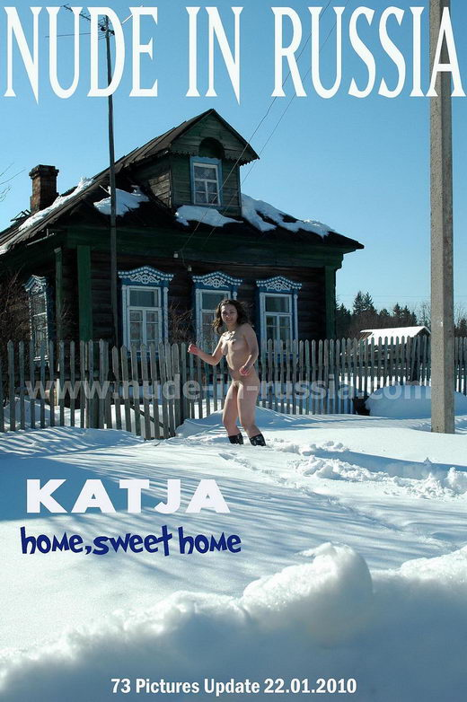 Katja - `Home Sweet Home` - for NUDE-IN-RUSSIA