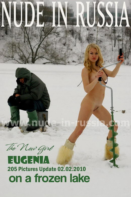 Eugenia - `On A Frozen Lake` - for NUDE-IN-RUSSIA