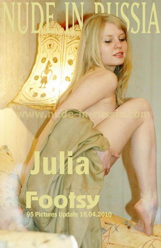 Julia - `Footsy` - for NUDE-IN-RUSSIA