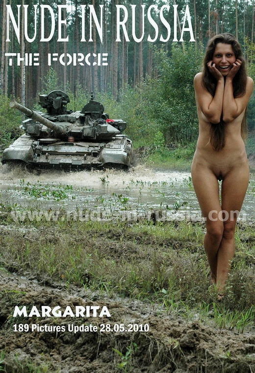 Margarita - `The Force` - for NUDE-IN-RUSSIA
