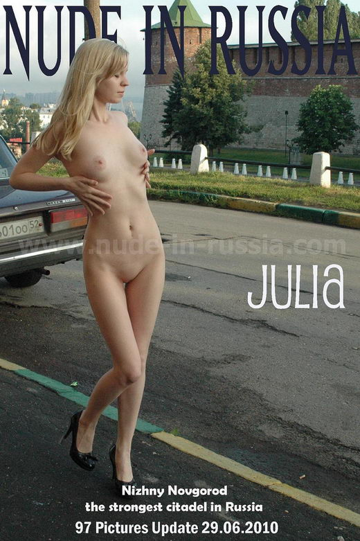 Julia - `Nizhny Novgorod` - for NUDE-IN-RUSSIA