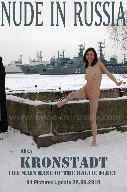 Alisa - `Kronstadt` - for NUDE-IN-RUSSIA