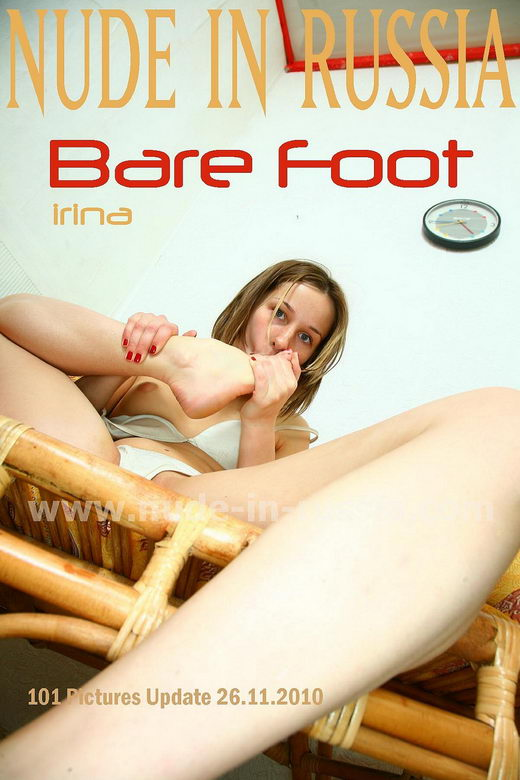 Irina - `Bare Foot` - for NUDE-IN-RUSSIA