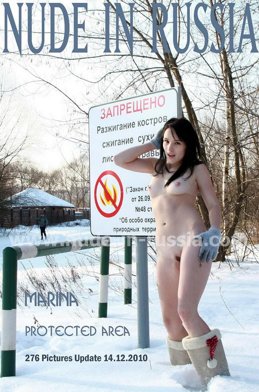 Marina - `Protected Area` - for NUDE-IN-RUSSIA