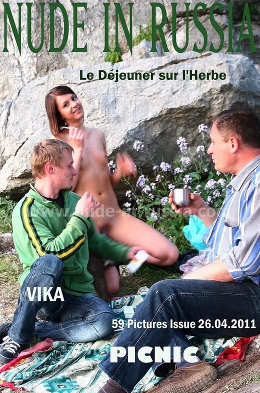 Vika - `Picnic` - for NUDE-IN-RUSSIA