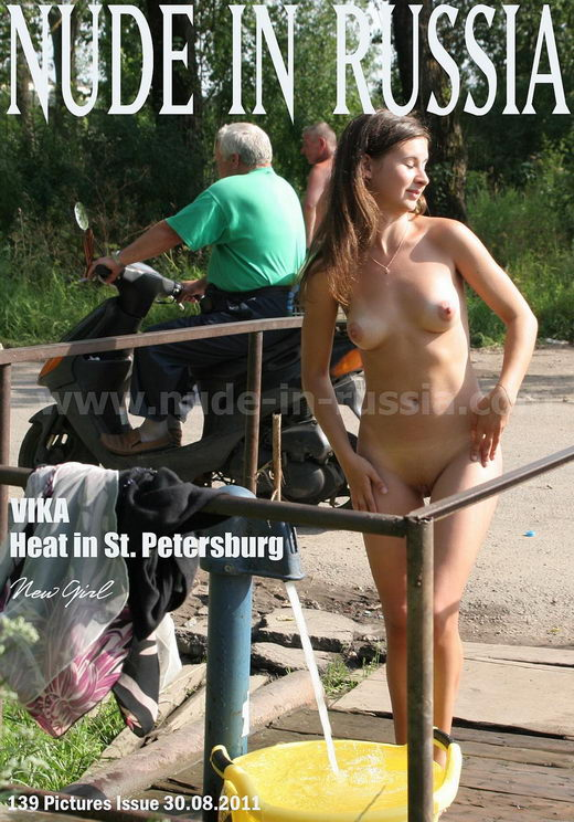 Vika - `Heat in St Petersburg` - for NUDE-IN-RUSSIA