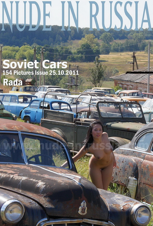 Rada in Soviet Cars gallery from NUDE-IN-RUSSIA