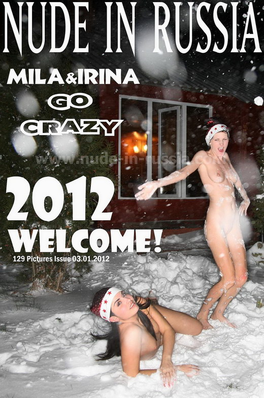 Mila & Irina - `2012 Welcome!` - for NUDE-IN-RUSSIA