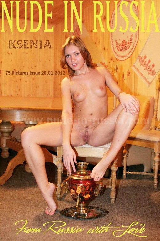 Ksenia - `From Russia with Love` - for NUDE-IN-RUSSIA