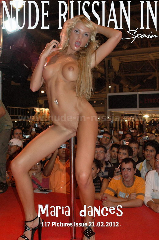 Maria - `DanceS` - for NUDE-IN-RUSSIA