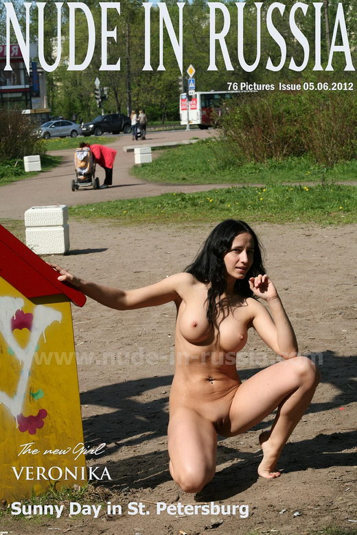 Veronika - `Sunny day in St Petersburg` - for NUDE-IN-RUSSIA