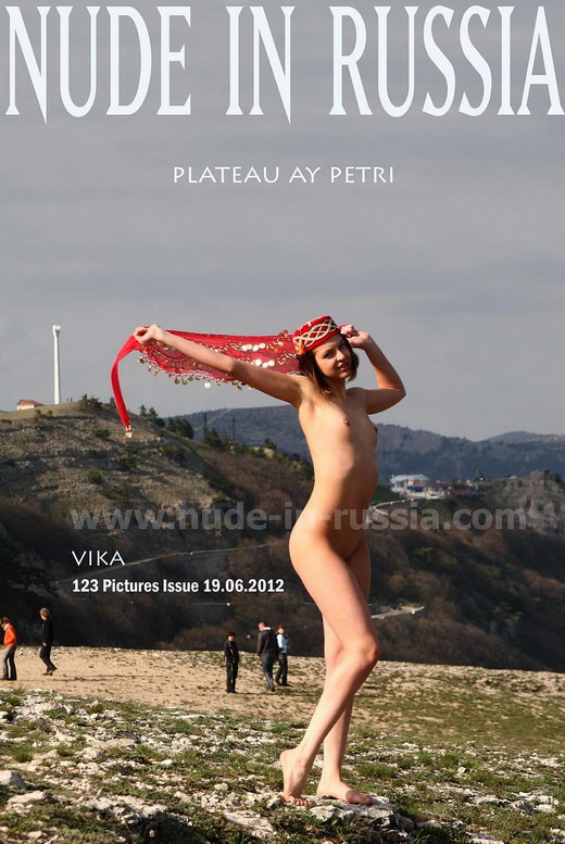 Vika - `Plateau Ay Petri` - for NUDE-IN-RUSSIA