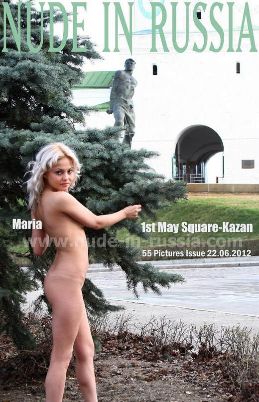 Maria - `1st May Square - Kazan` - for NUDE-IN-RUSSIA