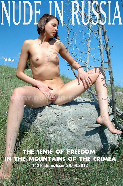 Vika - `Mountains of the Crimea` - for NUDE-IN-RUSSIA