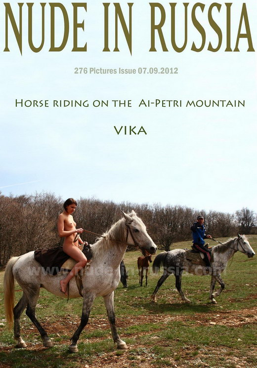 Vika - `Ai-Petra Mountains` - for NUDE-IN-RUSSIA