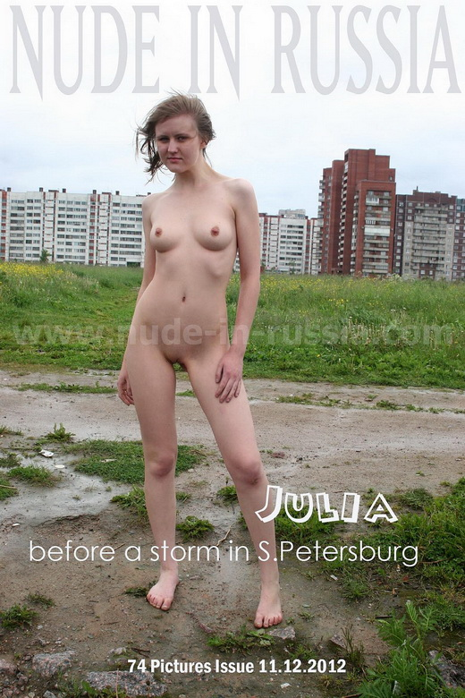 Julia - `St Petersburg` - for NUDE-IN-RUSSIA