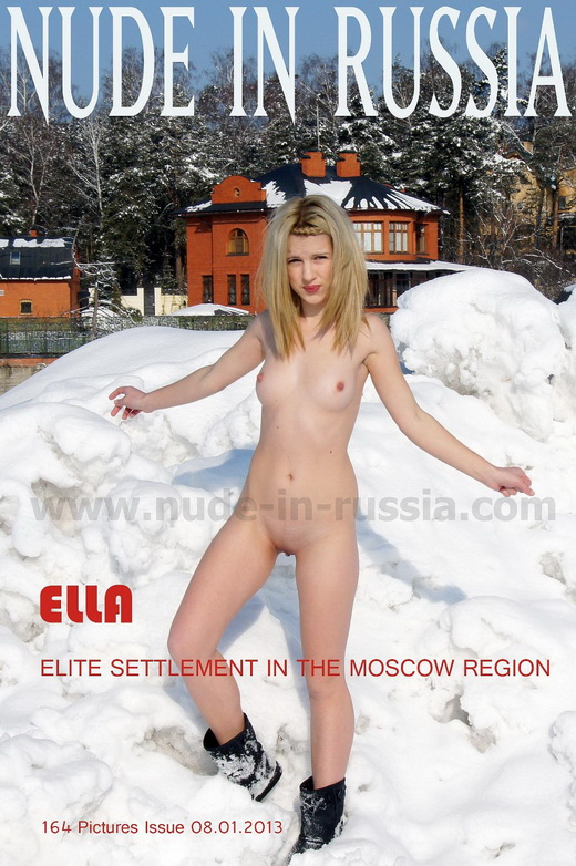 Ella - `Elite settlement` - for NUDE-IN-RUSSIA