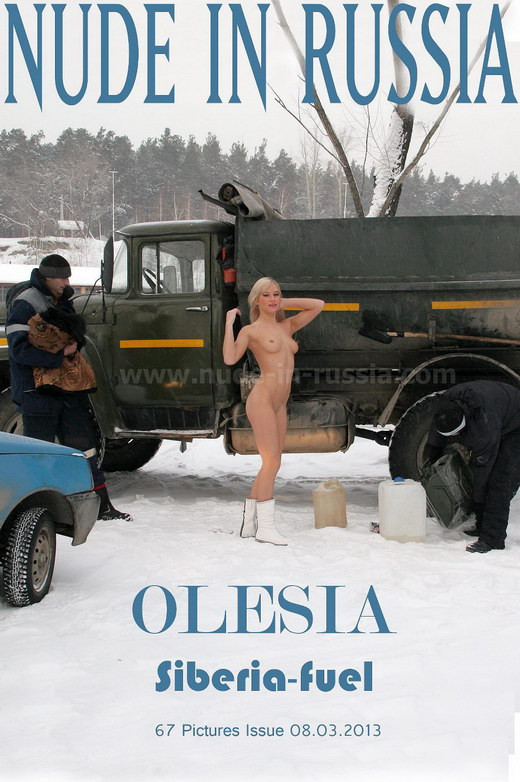 Olesia - `Siberia-Fuel` - for NUDE-IN-RUSSIA