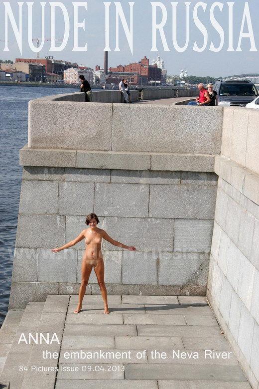Anna - `Neva River` - for NUDE-IN-RUSSIA