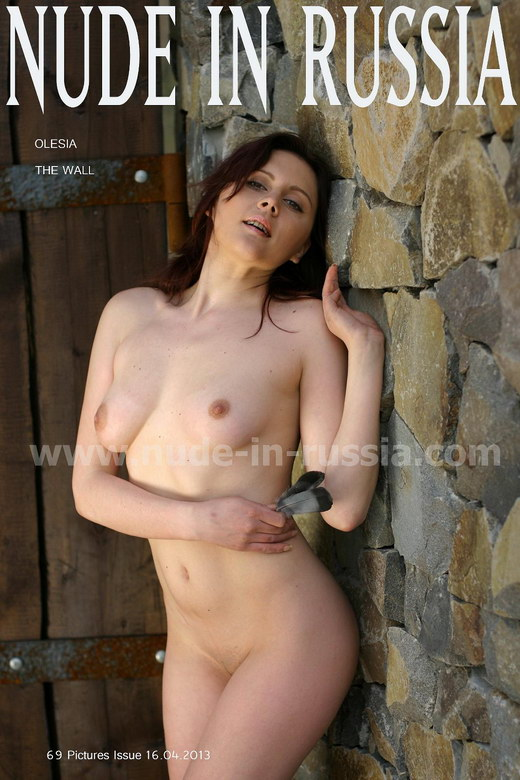 Olesia - `Wall` - for NUDE-IN-RUSSIA