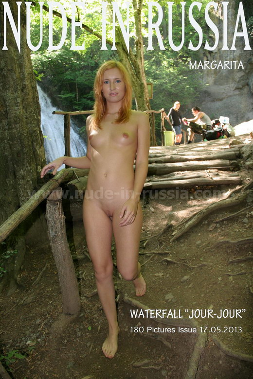 "Margarita in Waterfall ""Jour-Jour"" gallery from NUDE-IN-RUSSIA"