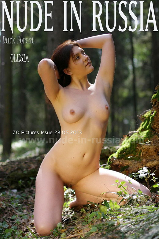 Olesia - `Darf Forest` - for NUDE-IN-RUSSIA