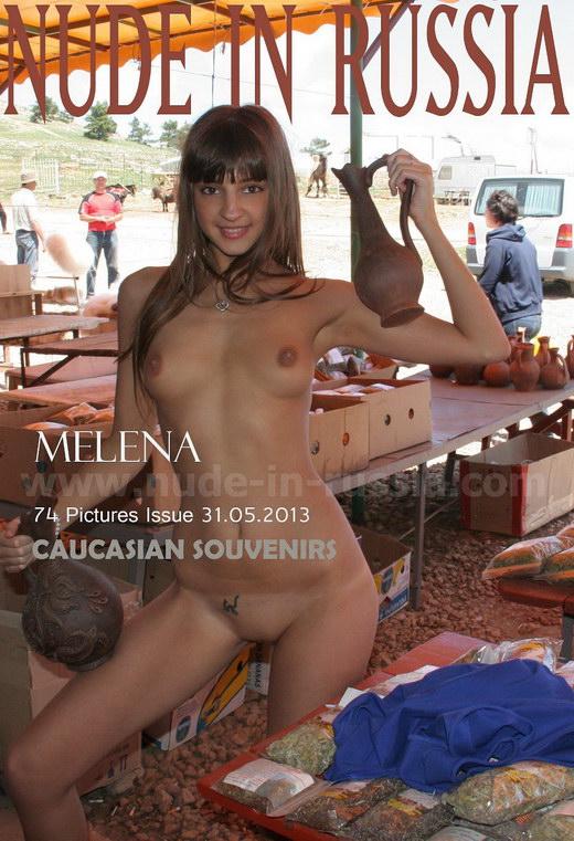 Melena - `Caucasian Souvenirs` - for NUDE-IN-RUSSIA