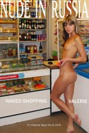 Valerie in Naked Shopping gallery from NUDE-IN-RUSSIA