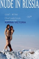 Karina A & Victoria A in Coal Mine Chelyabinsk gallery from NUDE-IN-RUSSIA