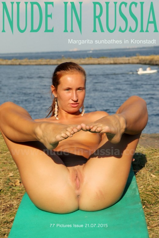 Rita S - `Margarita Sunbathes in Kronstadt` - for NUDE-IN-RUSSIA