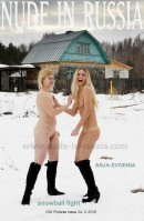 Anja & Evgenia in Snowball Fight gallery from NUDE-IN-RUSSIA