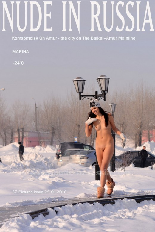 Marina G - `Komsomolsk On Amur` - for NUDE-IN-RUSSIA