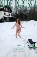 Sonja in Snow racer gallery from NUDE-IN-RUSSIA