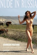 Jana A in Crimean Pasture gallery from NUDE-IN-RUSSIA