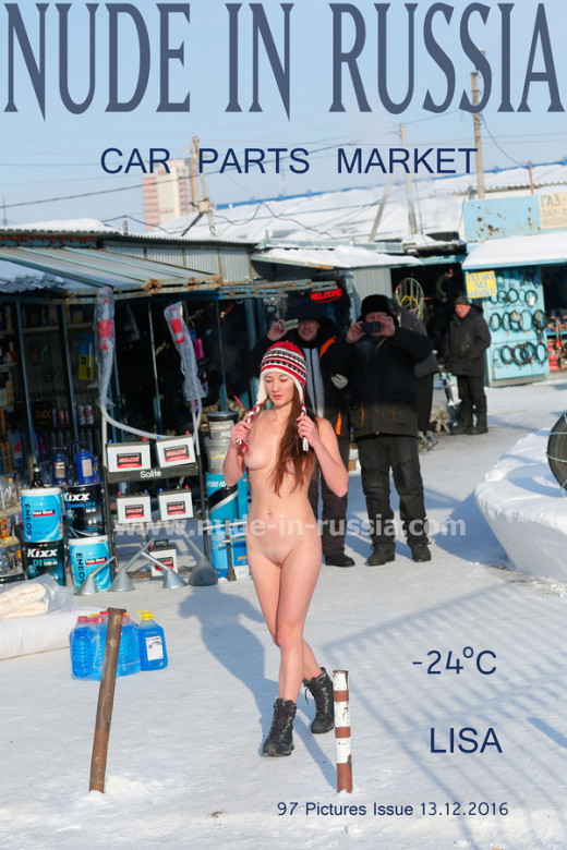 Lisa in Car Parts Market gallery from NUDE-IN-RUSSIA