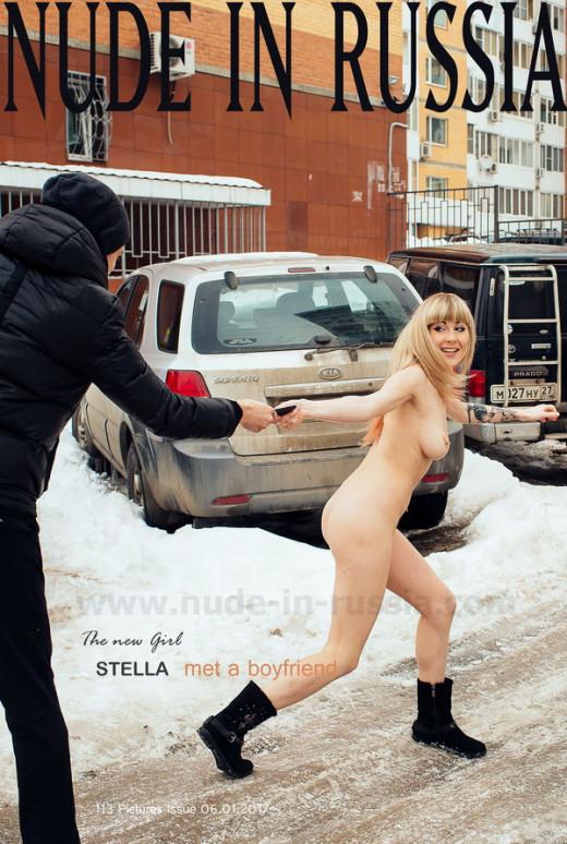 Stella - `Met a Boyfriend` - for NUDE-IN-RUSSIA