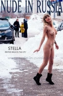 Stella in Winter Walk in the City gallery from NUDE-IN-RUSSIA