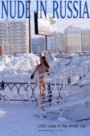 Lisa in Nude in the Winter City gallery from NUDE-IN-RUSSIA