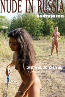 Margarita S & Zeya in Badminton gallery from NUDE-IN-RUSSIA