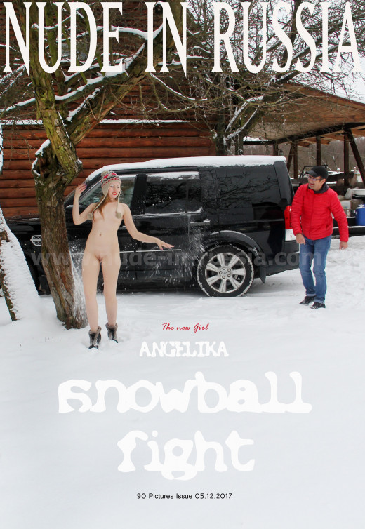 Angelika - `Snowball Fight` - for NUDE-IN-RUSSIA