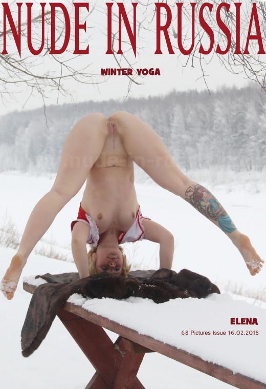 Elena in Winter Yoga gallery from NUDE-IN-RUSSIA