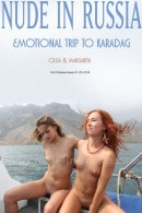 Olga & Margarita in Emotional Trip to Karadag gallery from NUDE-IN-RUSSIA