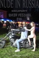 Eva in Kozloparty Biker Festival gallery from NUDE-IN-RUSSIA