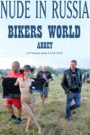 Abbey in Bikers World gallery from NUDE-IN-RUSSIA