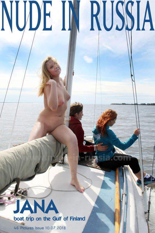 Jana in Boat Trip on the Gulf of Finland gallery from NUDE-IN-RUSSIA