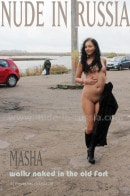 Masha in Walks Naked in the Old Fort gallery from NUDE-IN-RUSSIA