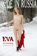 Eva in It's Snowing gallery from NUDE-IN-RUSSIA