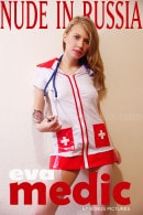 Eva in Medic - Bonus gallery from NUDE-IN-RUSSIA