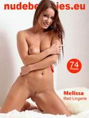 Melissa - 164 - Red Lingerie
