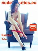 Karmen in 288 - Relax video from NUDEBEAUTIES by Marcus Ernst